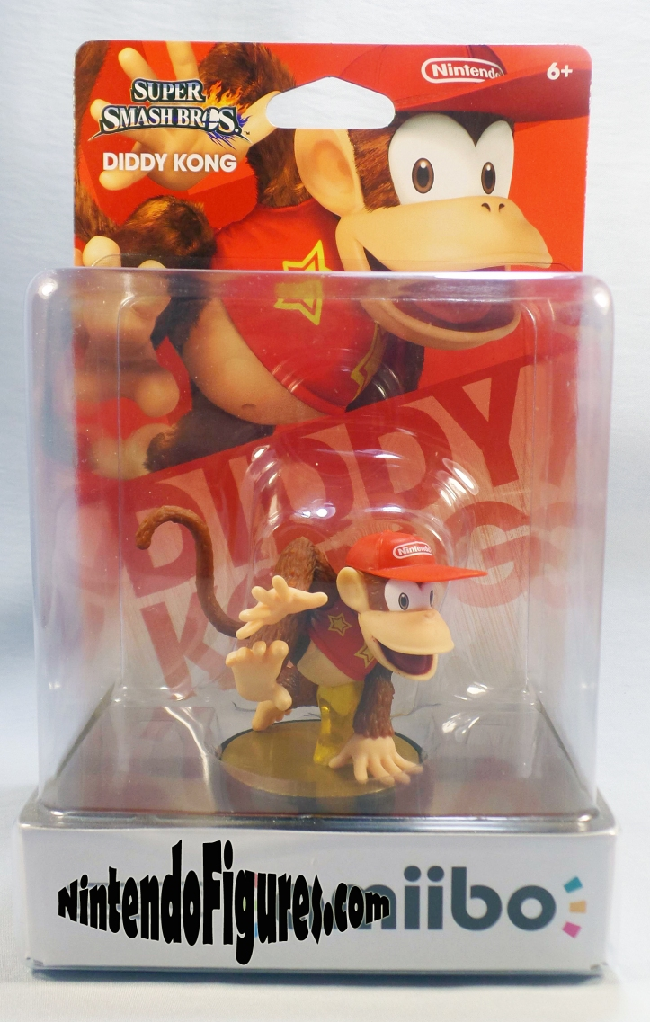 diddy kong smash brothers amiibo box