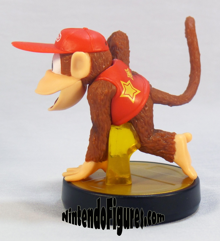 diddy kong smash brothers amiibo side