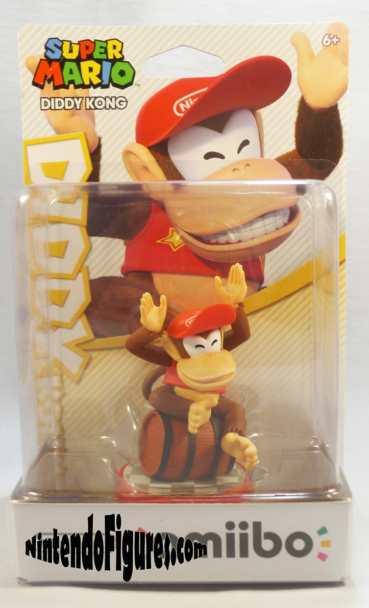 diddy kong super mario amiibo box