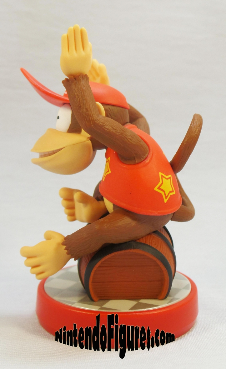 diddy kong super mario amiibo side