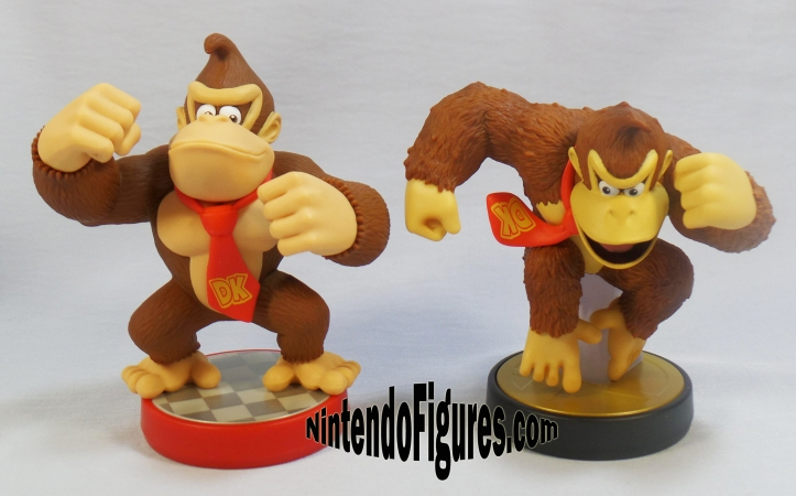 smash brothers and super mario donkey kong amiibo