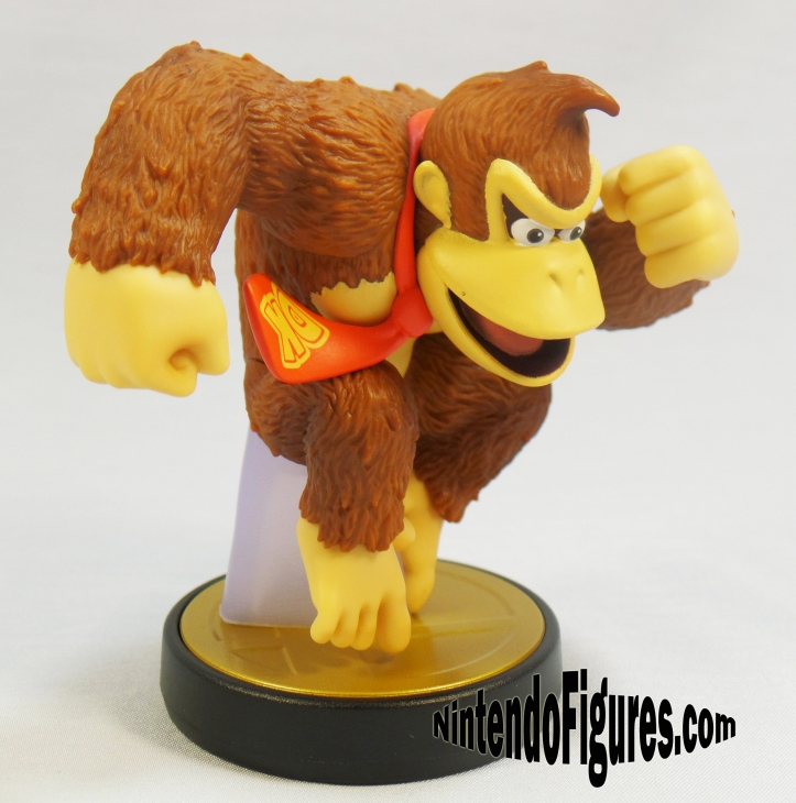 smash brothers donkey kong amiibo side