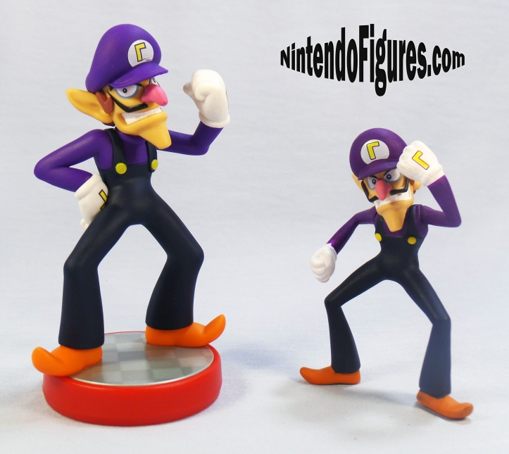 waluigi amiibo and world-of nintendo
