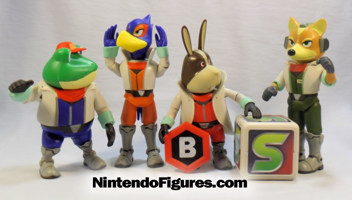 peppy falco slippy fox mccloud world of nintendo star fox team