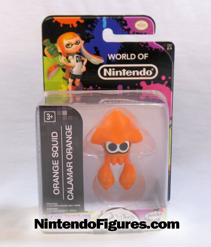 world of nintendo orange squid splatoon box