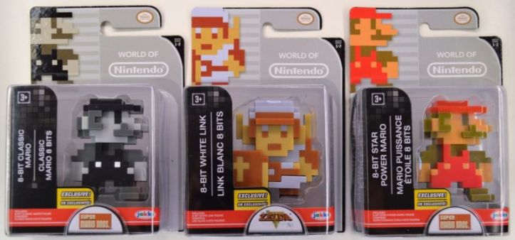world of nintendo 8-bit Mario Link walgreens exclusive
