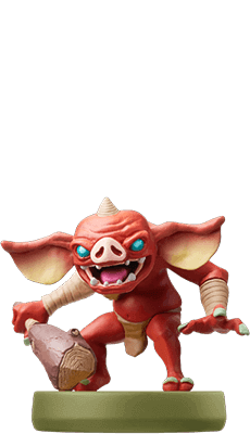 amiibo bokoblin legend of zelda breath of the wild