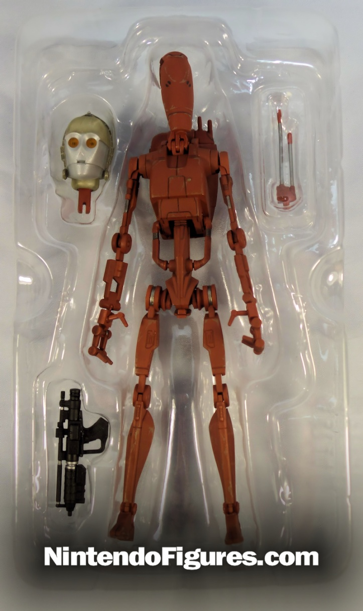bandai s. h. figuarts battle droid accessories