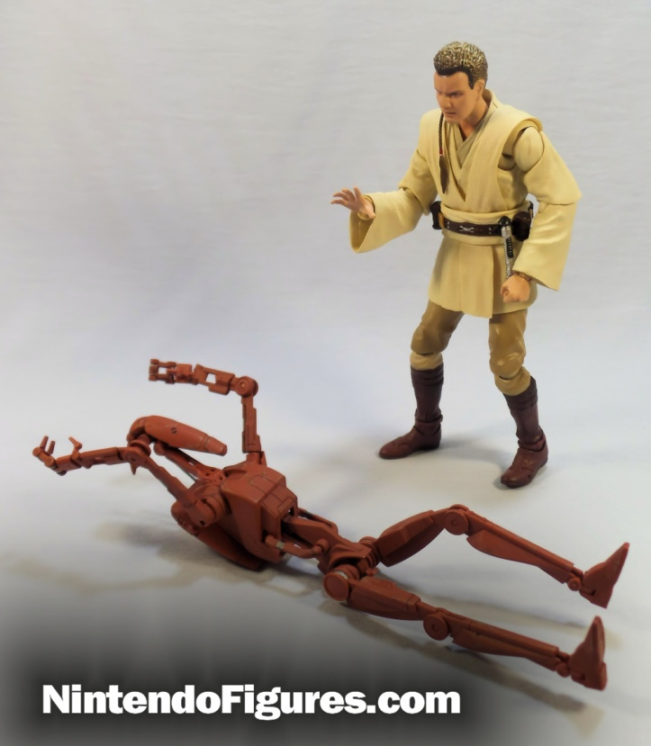 bandai s h figuarts battle droid pose 4