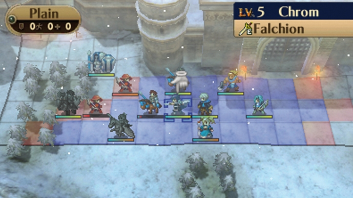 fire emblem awakening screenshot