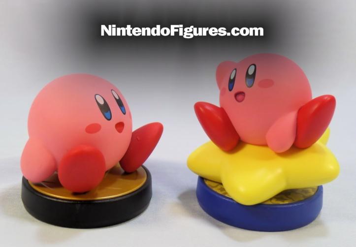 kirby Smash Brothers amiibo comparison