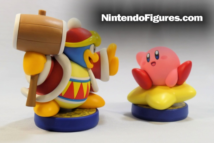 kirby and king dedede amiibo