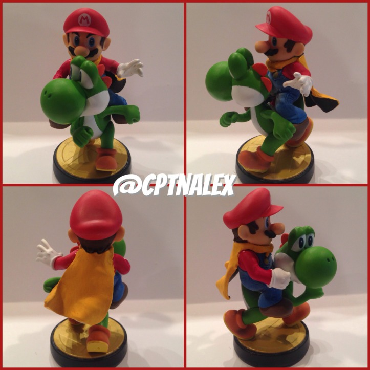 mario and yoshi custom amiibo super mario world