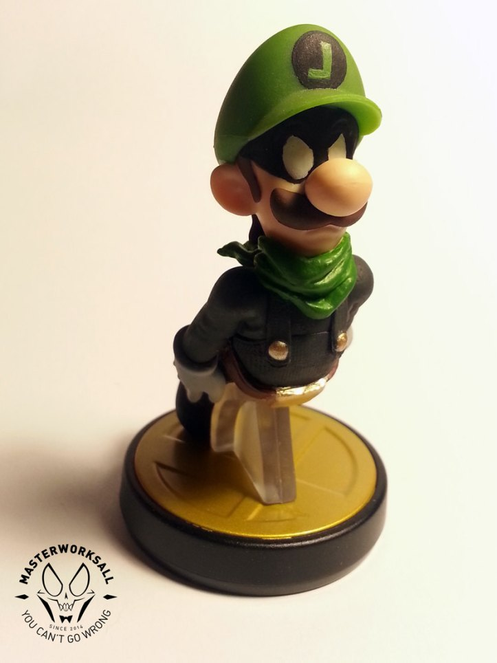 mr. l. luigi custom amiibo