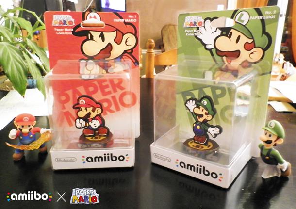 paper mario custom amiibo