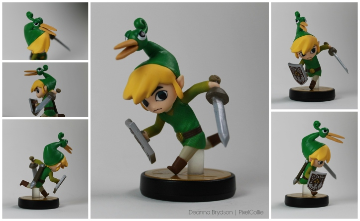 legend of zelda toon link minnish cap custom amiibo
