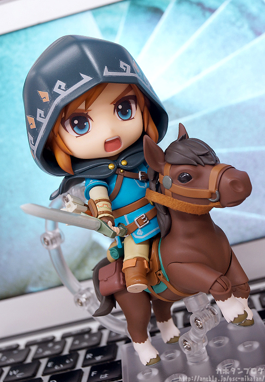 zelda breath of the wild nendoroid 2