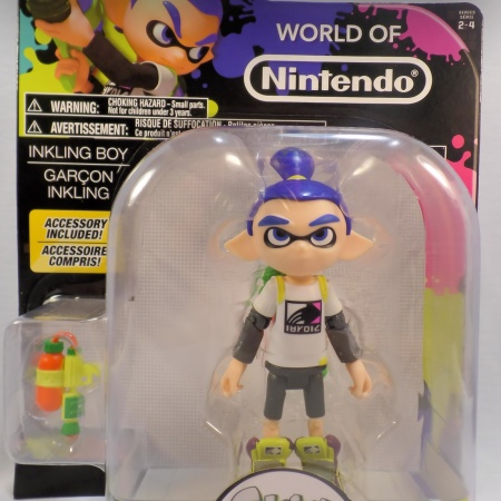 Inkling Kid World Of Nintendo 4 Inch Figure Review