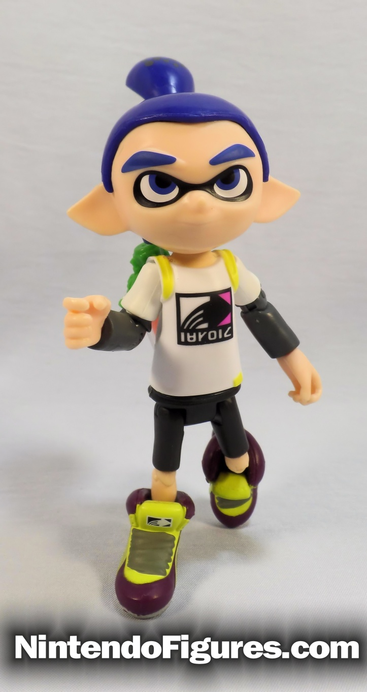 inkling boy splatoon world of nintendo running