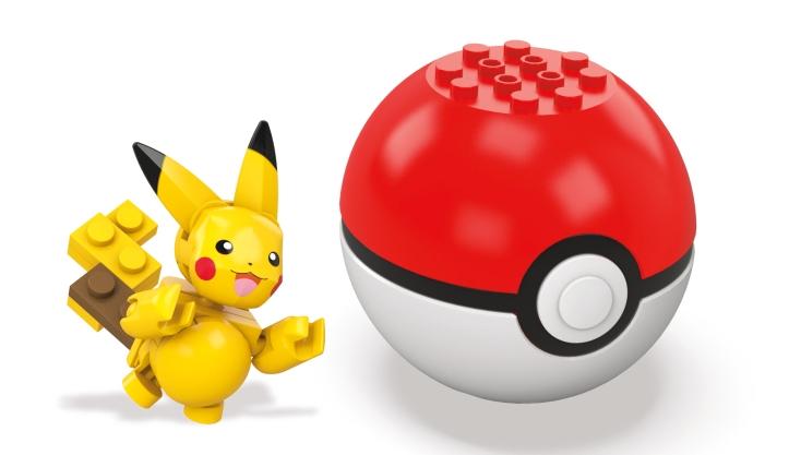 pikachu poke ball mega construx