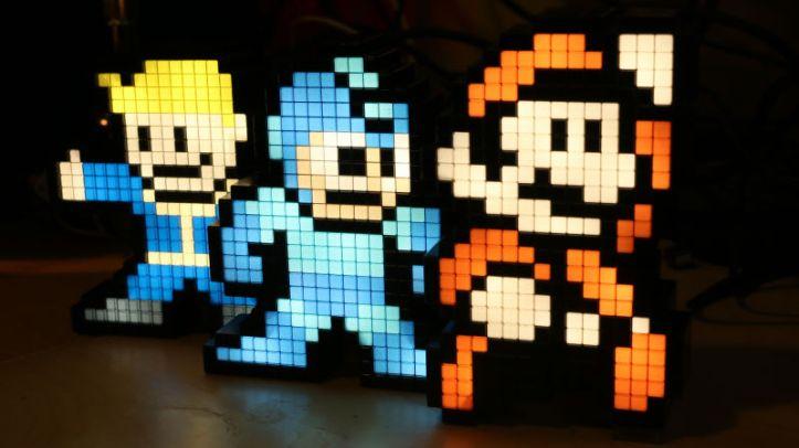 vault boy mega man mario pixel pals