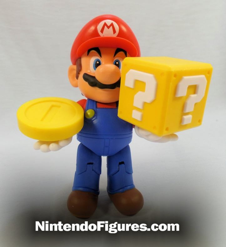 world of nintendo waving mario with accessories