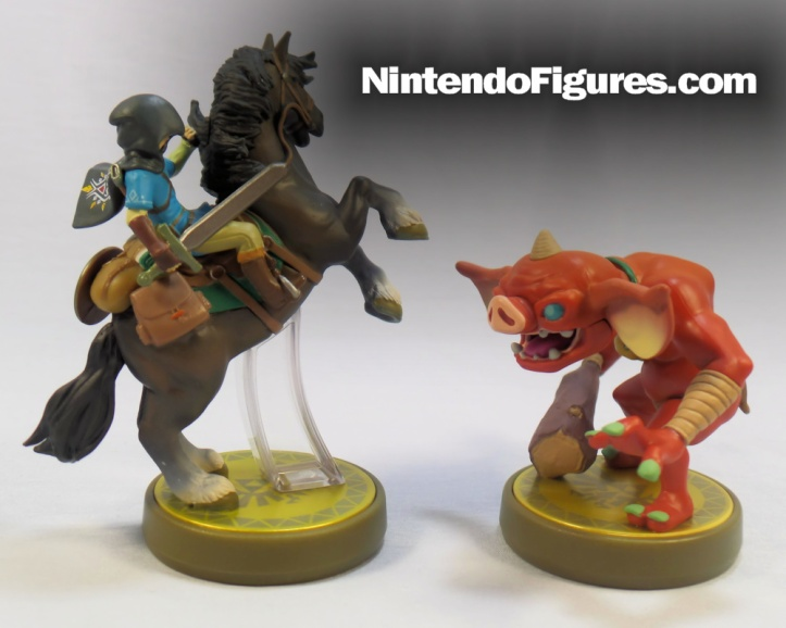 Bokoblin and Rider Link Zelda Breath of the Wild Amiibo