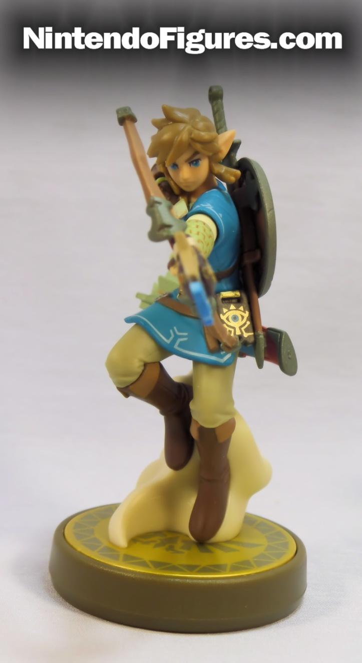 link breath of the wild amiibo front