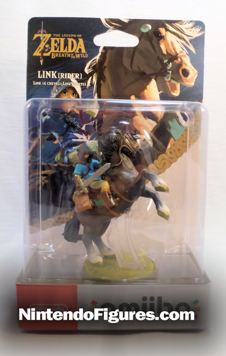 Link Rider Legend of Zelda Breath of the Wild Amiibo Box
