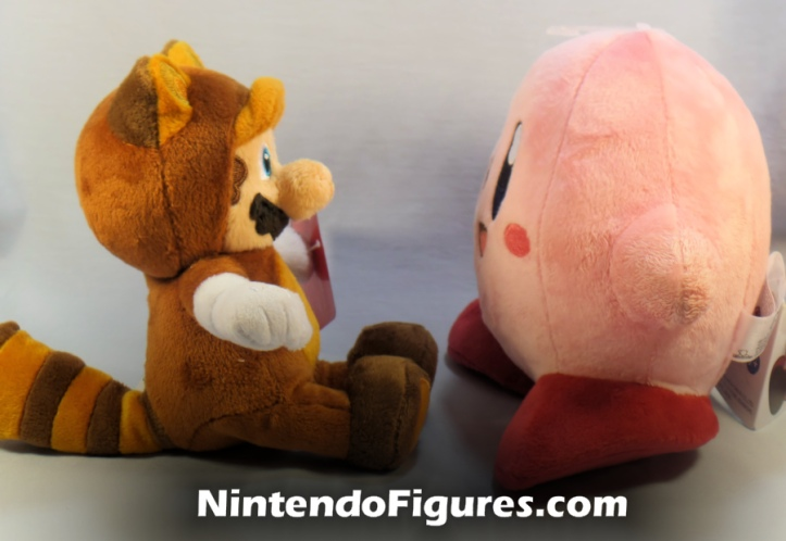 Tanooki Mario World of Nintendo Plush and San-ei Kirby