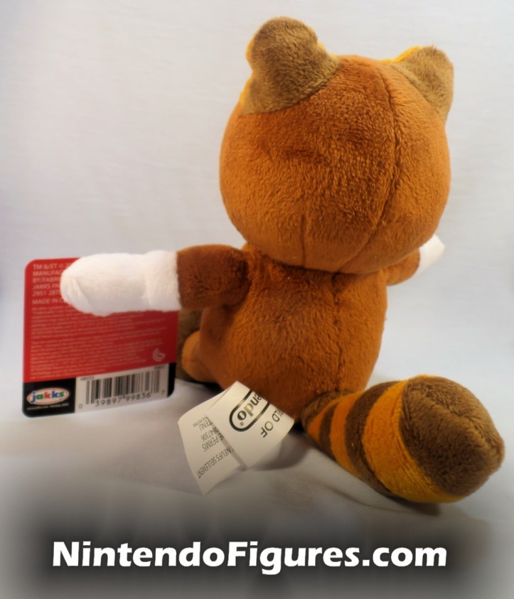 Tanooki Mario World of Nintendo Plush Back
