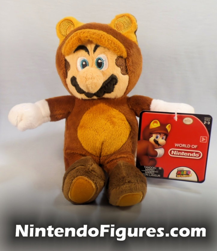 Tanooki Mario World of Nintendo Plush Front
