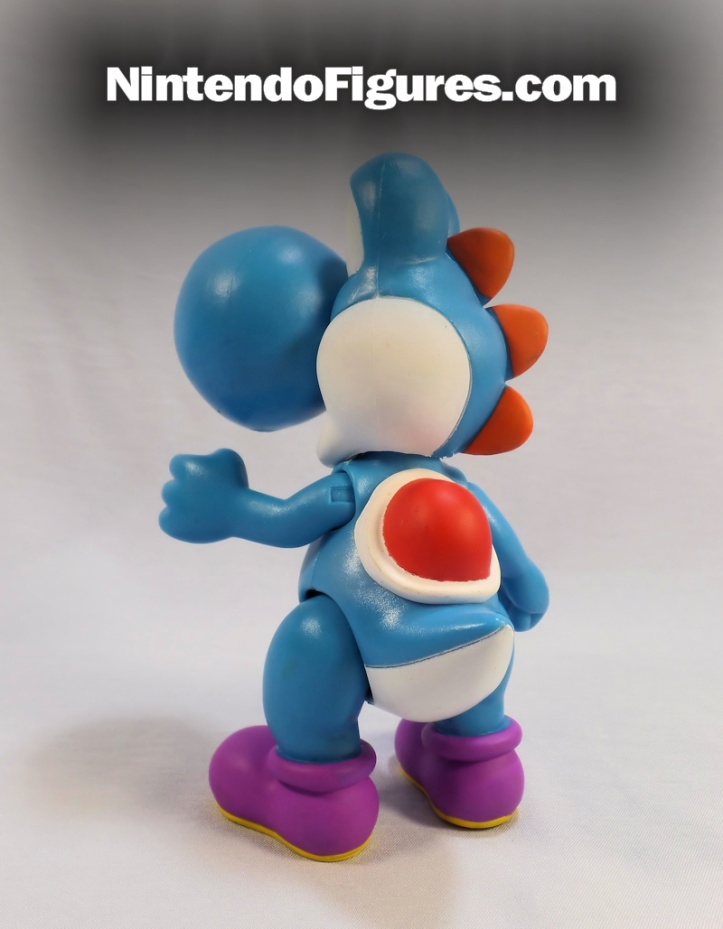 world of nintendo blue yoshi back