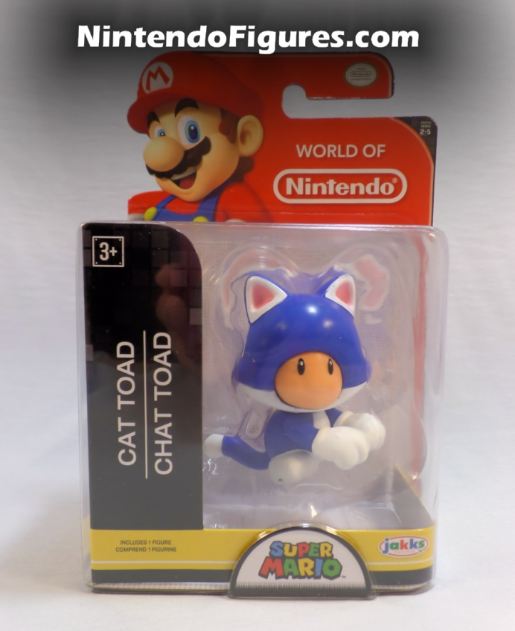 "Cat Toad World of Nintendo 2.5"" Box"