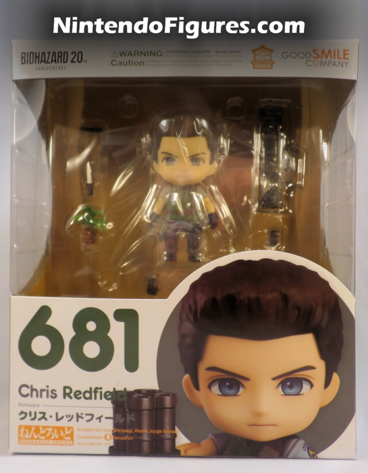 Chris Redfield Resident Evil Nendoroid Box Front
