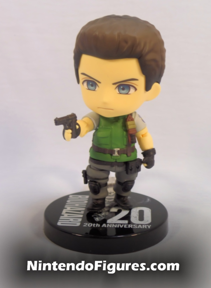 Chris Redfield Nendoroid with Gun