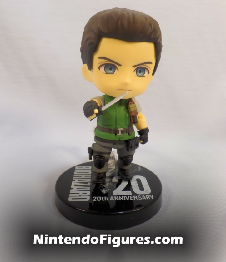 Chris Redfield Nendoroid with Knife