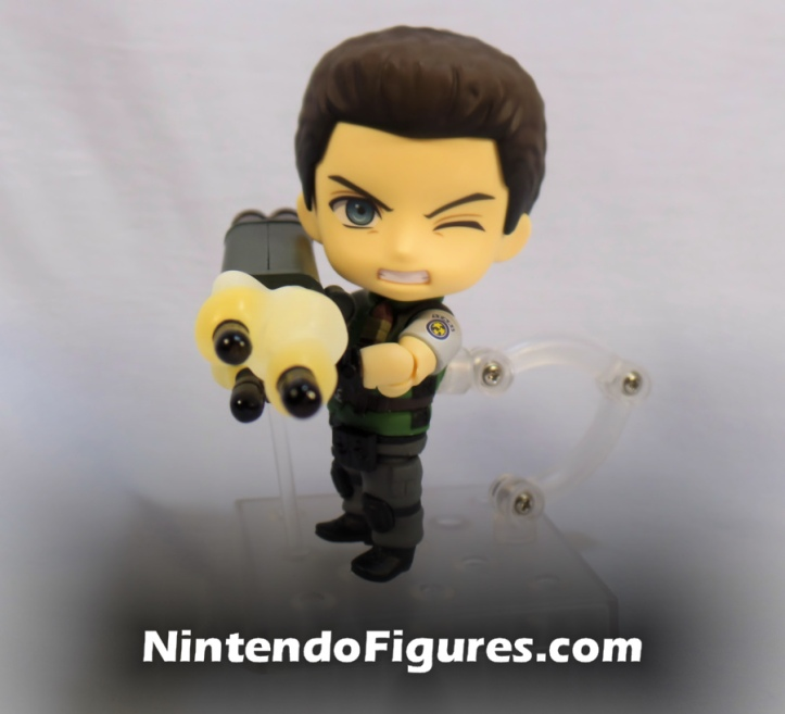 Chris Redfield Nendoroid with Rocket Launcher 2