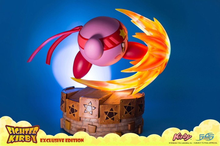 Fighter Kirby First 4 Figures Statue 1