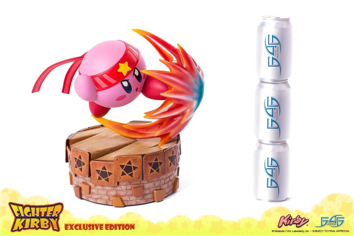 Fighter Kirby First 4 Figures Statue 2
