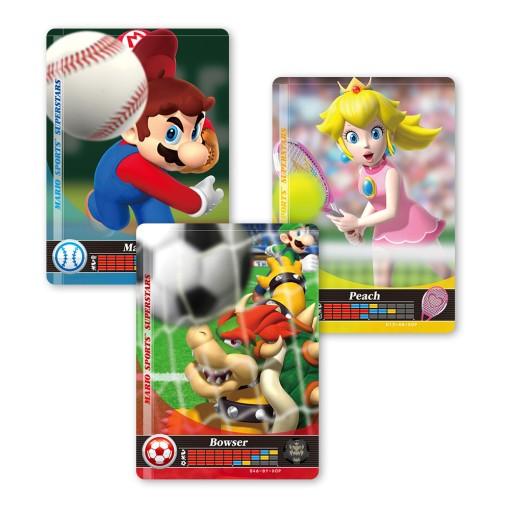 Mario Sports Amiibo Cards