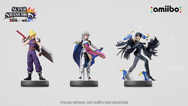 New Smash Brothers Amiibo 1