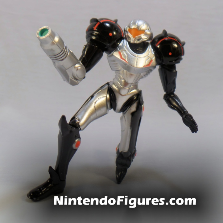 "Phazon Suit Samus World of Nintendo 4"" Inch Figure"