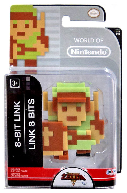 8-Bit Link World of Nintendo 2.5 Inch Figure