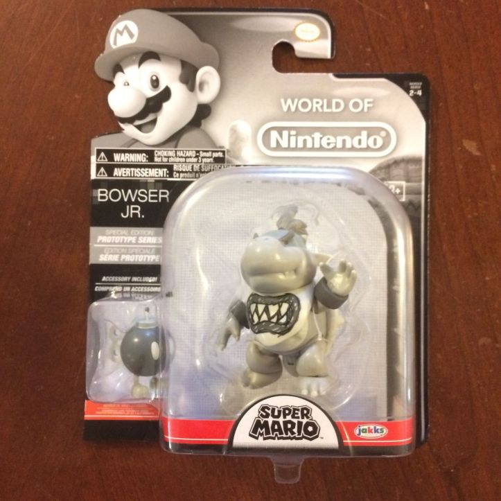 Bowser Jr. Prototype Series World of Nintendo 4 Inch Figure