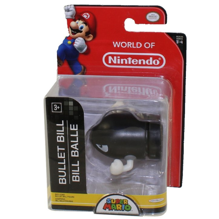 Bullet Bill World of Nintendo 2.5 Inch Figure
