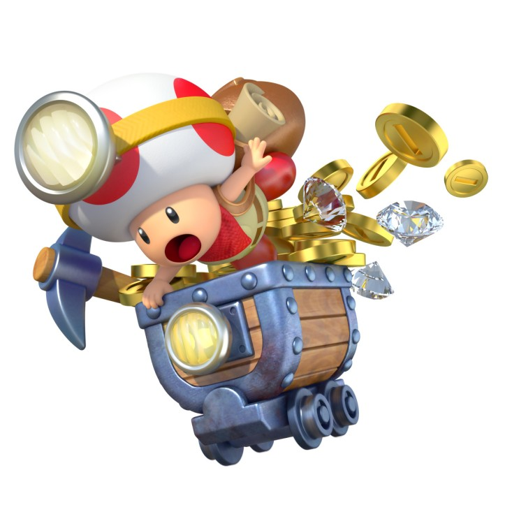 Captain Toad Treasure Tracker Art
