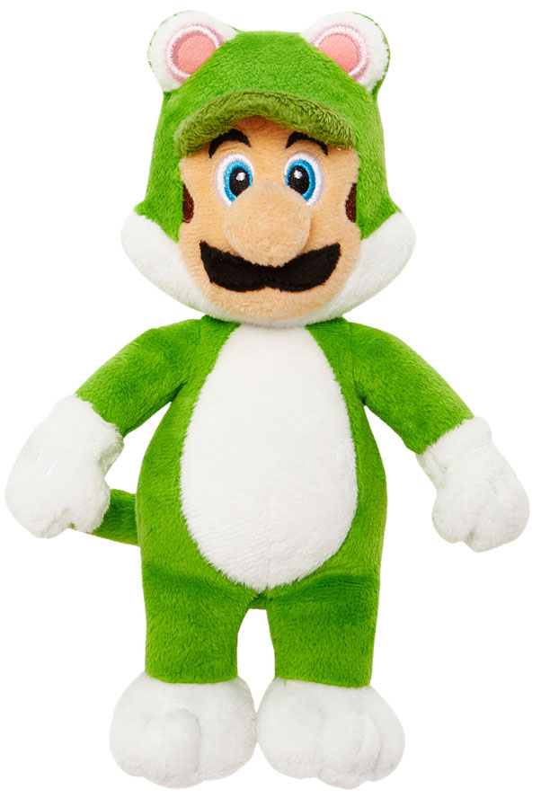 Cat Luigi World of Nintendo Plush