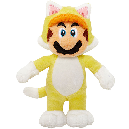 Cat Mario World of Nintendo Plush
