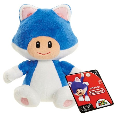 Cat Toad World of Nintendo Plush